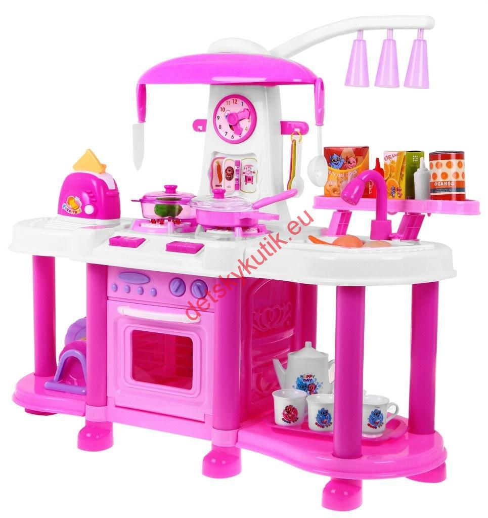 a70cb312d Detská kuchynka interaktivna - svetlo-voda-otváracie dvierka ...