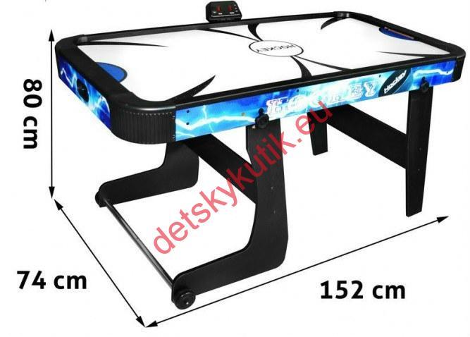 f6d30781d Stolný AIR hokej - elektrický 152x74x76 cm | Detský Kútik