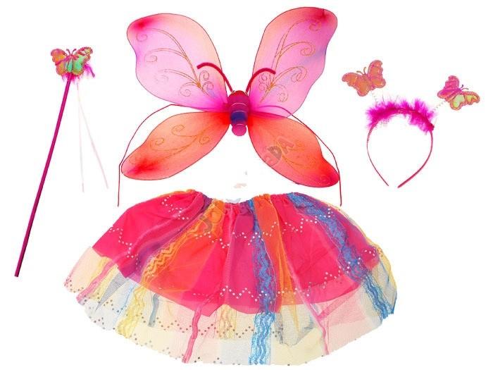 Karnevalový kostým motýľ