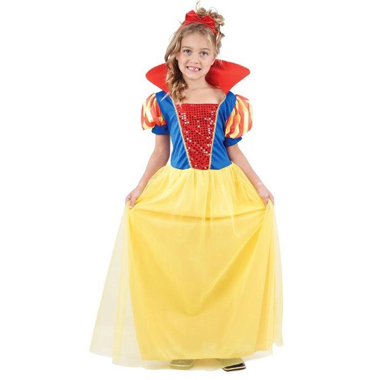Karnevalový kostým Snehulienka